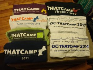 THATCamp shirts